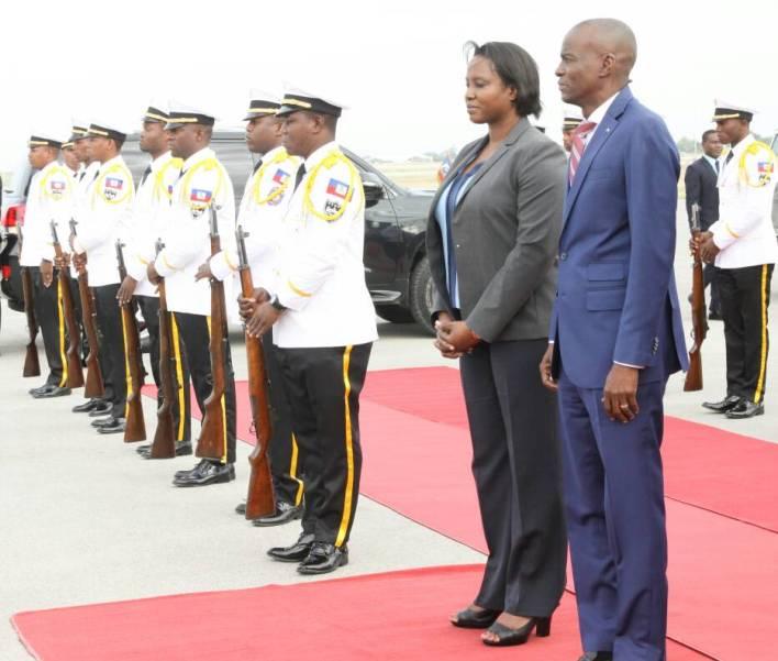 Le président de la République de retour en Haïti après une visite de trois jours dans l'Etat de la Floride