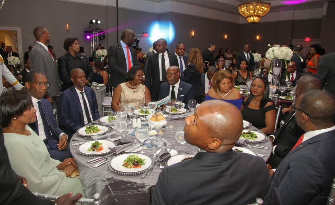 Gala de la Chambre Haïtienne Américaine de Commerce de la Floride en l'honneur de Jovenel Moïse